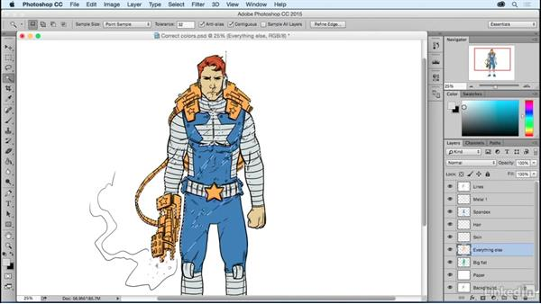 Choosing the right colors for your characters: Photoshop: Coloring Comic Book Characters