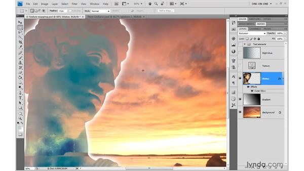 Difference and exclusion: Photoshop CS4 One-on-One: Advanced