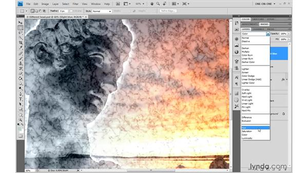 The composite (HSL) modes: Photoshop CS4 One-on-One: Advanced