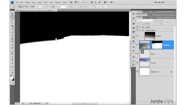 Fixing last-minute problems: Photoshop CS4 One-on-One: Advanced