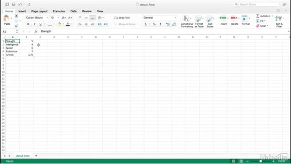 Working with graphs in a spreadsheet: Adobe Illustrator Variable Data