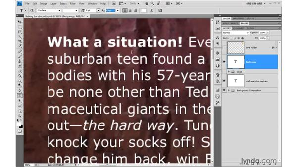 Changing the anti-aliasing setting: Photoshop CS4 One-on-One: Advanced