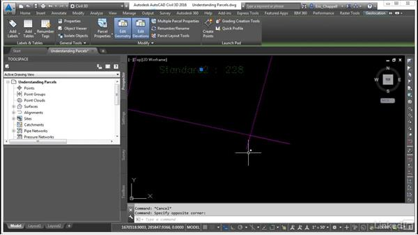 Understand parcel objects: AutoCAD Civil 3D: Designing Residential Projects