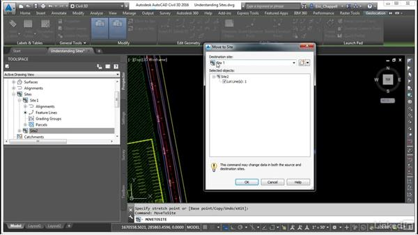Understand sites: AutoCAD Civil 3D: Designing Residential Projects