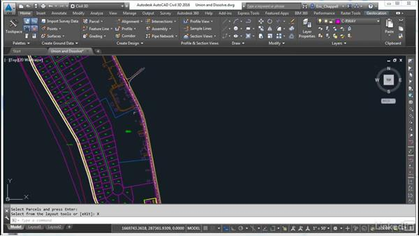 Use Union and Dissolve: AutoCAD Civil 3D: Designing Residential Projects