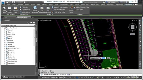 Renumber parcels: AutoCAD Civil 3D: Designing Residential Projects