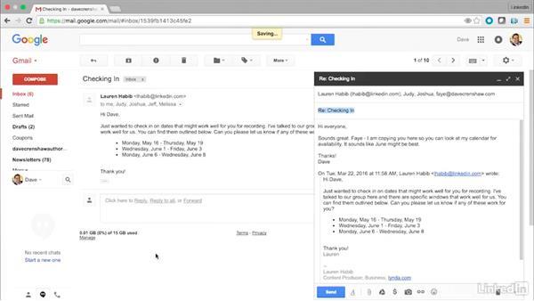 Power tips for sending email: Time Management Tips