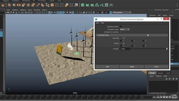 Export Maya camera and import into Matinee: Realtime Motion Graphics with Unreal Engine 4
