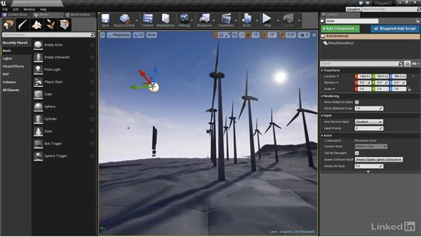 Maya camera import: Realtime Motion Graphics with Unreal Engine 4