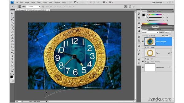 Envelope-style warps: Photoshop CS4 One-on-One: Advanced