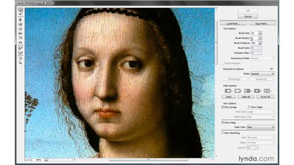 Using the Warp tool: Photoshop CS4 One-on-One: Advanced