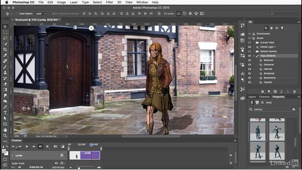 Choosing an animation: Learn Adobe Fuse CC: The Basics