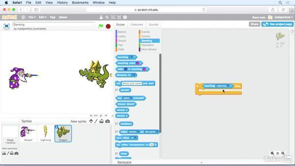 Sensing: Scratch Programming Language: The Basics