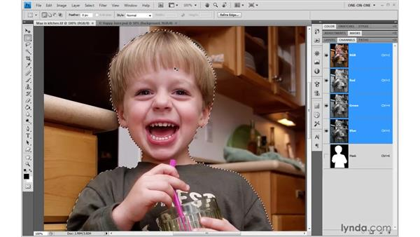 Of layer styles and masks: Photoshop CS4 One-on-One: Advanced