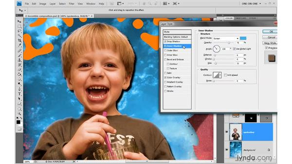 Colorizing with Color Overlay: Photoshop CS4 One-on-One: Advanced