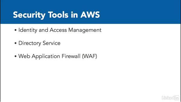 The AWS security landscape: Amazon Web Services: Enterprise Security