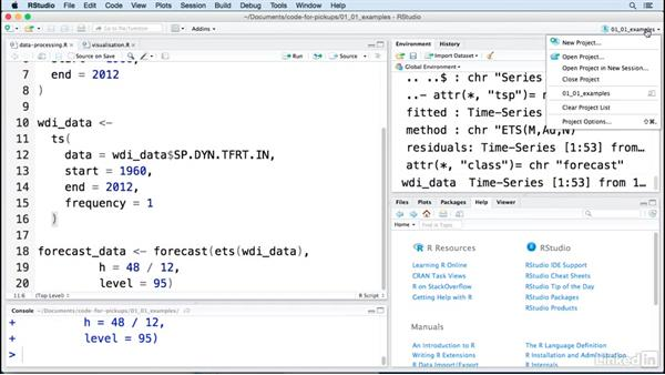 Why use RStudio?: Creating Interactive Presentations with Shiny and R