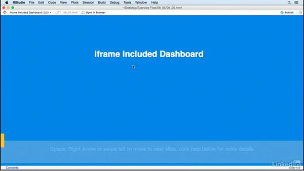 iframes: Creating Interactive Presentations with Shiny and R