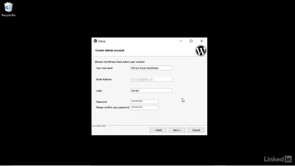 Install Bitnami on Windows computers: Installing and Running WordPress: Bitnami