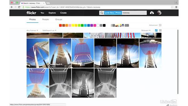 Search your photostream: Sharing Photos with Flickr