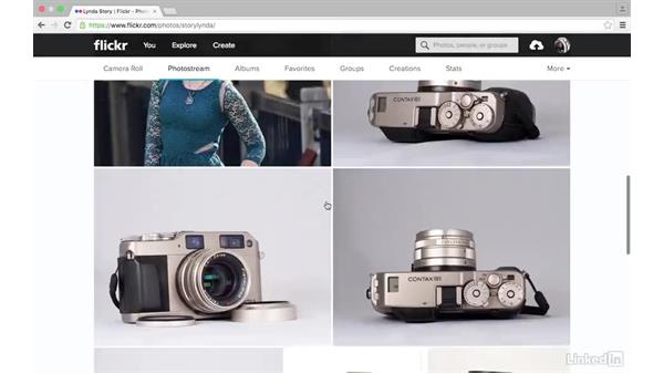 Delete a photo: Sharing Photos with Flickr