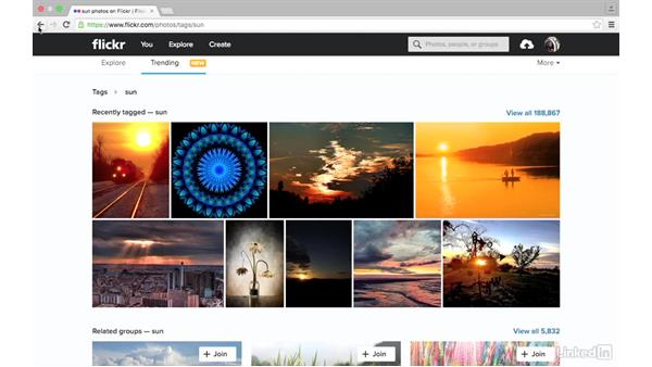 Trending: Sharing Photos with Flickr