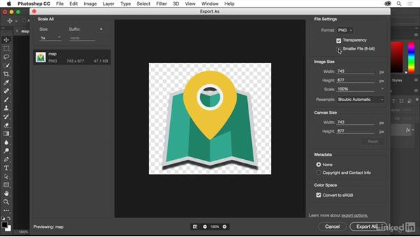 Options for PNG and GIF optimization: Creating Optimized Web Graphics