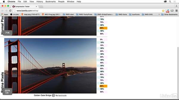 Optimizing Retina images further: Creating Optimized Web Graphics