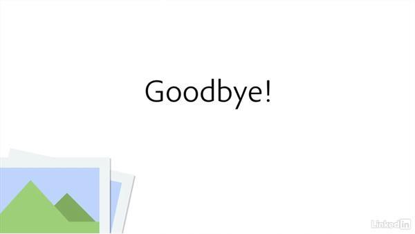 Goodbye: Creating Optimized Web Graphics