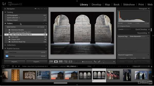 Our organizational goal: Cleaning Up Your Mess in Lightroom