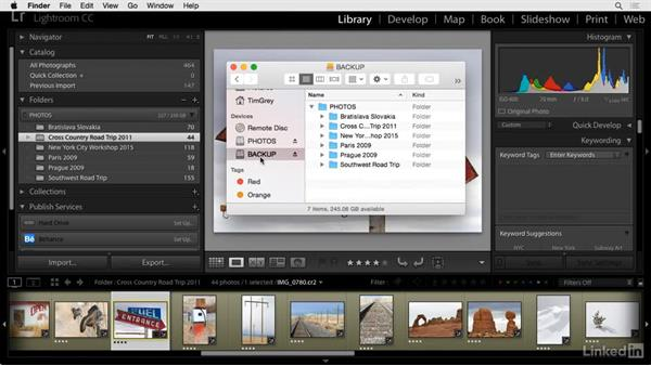 Inventory and backup: Cleaning Up Your Mess in Lightroom