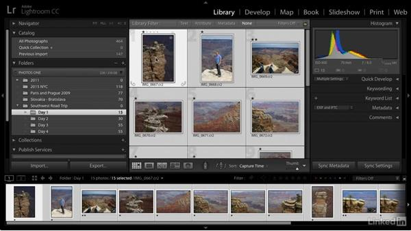Merge folders: Cleaning Up Your Mess in Lightroom