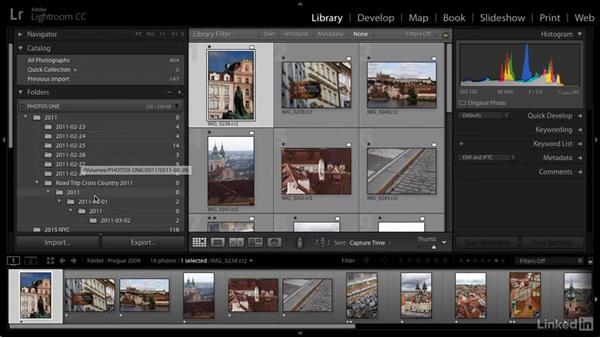 Clean up date-based folders: Cleaning Up Your Mess in Lightroom
