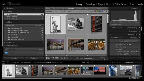 Update photo attributes: Cleaning Up Your Mess in Lightroom