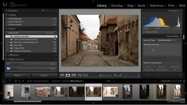 Correct keyword spelling errors: Cleaning Up Your Mess in Lightroom