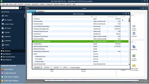 Welcome: QuickBooks: Setting up a Company File In Depth