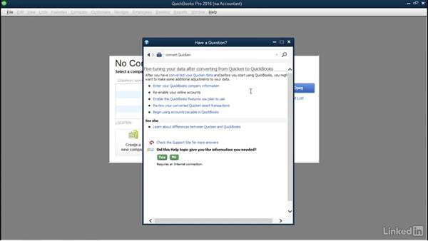 Clean up your converted file: QuickBooks: Setting up a Company File In Depth