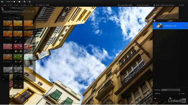The role of selections: Learning Pixelmator