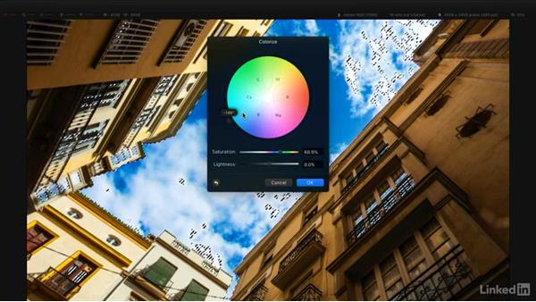 Select an area based on color: Learning Pixelmator