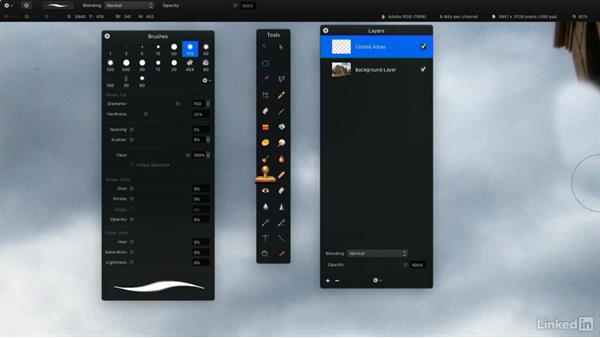 Create new and duplicate layers: Learning Pixelmator