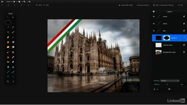 Add layer and clipping masks: Learning Pixelmator