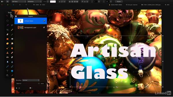 Add and edit text: Learning Pixelmator