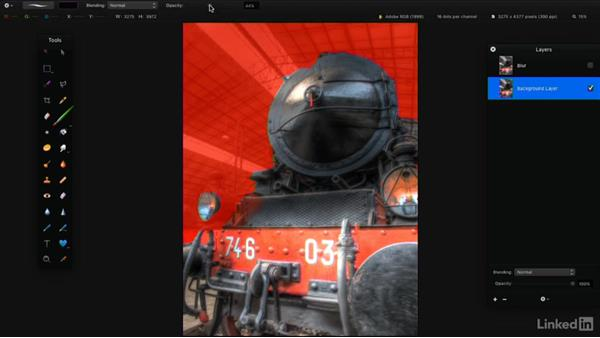 Blur images: Learning Pixelmator