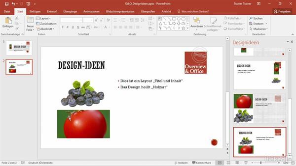 Powerpoint Design Ideen Anpassen - design bild