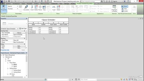 Adding zones and heating and cooling loads: Revit 2017: Essential Training for MEP (Imperial)