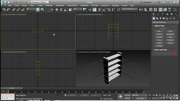 Importing and replacing from the Asset Library: 3ds Max 2017 New Features