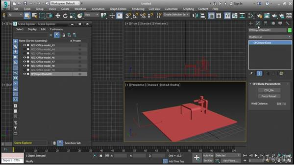 Visualizing computational fluid dynamics: 3ds Max 2017 New Features