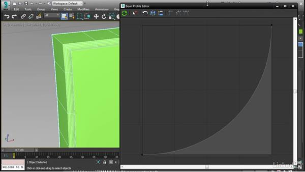 Modeling with the updated Bevel Profile: 3ds Max 2017 New Features
