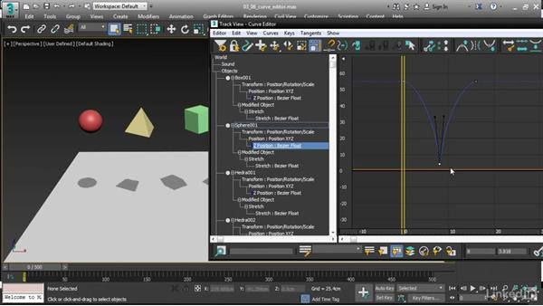Navigating the updated Curve Editor: 3ds Max 2017 New Features