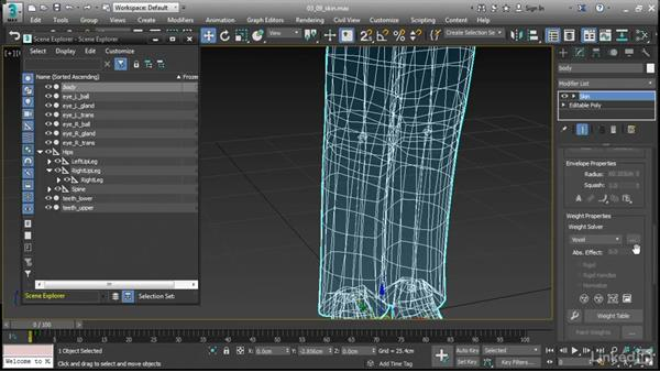 Skin Voxel and Heat Map solvers: 3ds Max 2017 New Features